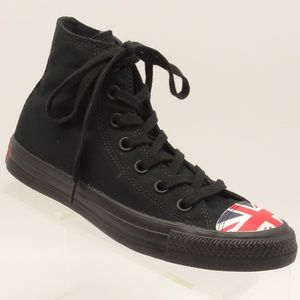 8b4438c4a2fd Converse · CONVERSE ALL-STAR British Flag Hi Top Sneakers.  49  120. Size   ...